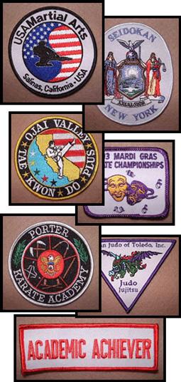 Custom Patches - HSU Martial Arts - judo, judo uniform, karate